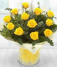 A Dozen Yellow Roses*