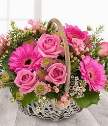 florists Choice Pink basket